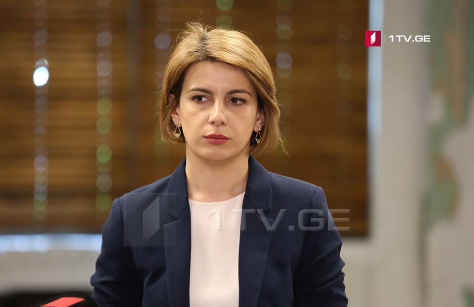 Тамар Чугошвили-Меня уничтожило то, что я увидела российского депутата в кресле председателя парламента Грузии