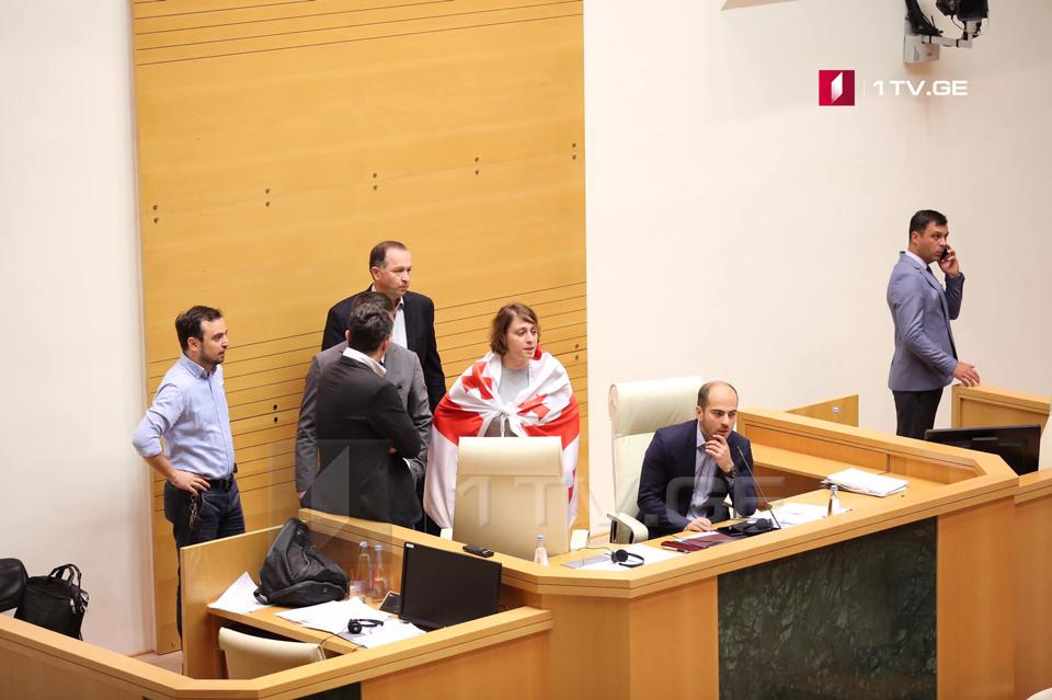 Члены «Европейской Грузии» опротестовали то, что Сергей Гаврилов вел сессию Межпарламентской Ассамблеи Православия из кресла председателя парламента [фото]