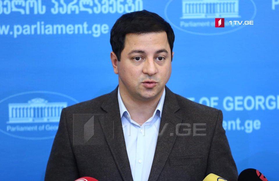 Арчил Талаквадзе - Мы не собираемся ни на кого перекладывать ответственность, это наша ответственность, как власти