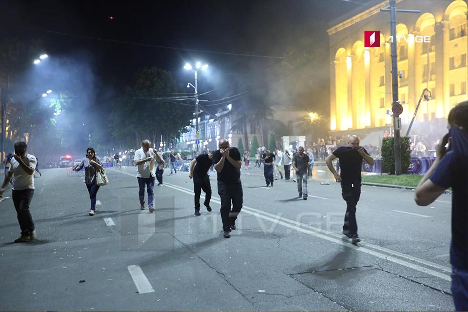 Լրագրողների միջազգային դաշնությունը դատապարտում է Վրաստանում ոստիկանության կողմից լրագրողների դեմ կոպիտ գործողությունները
