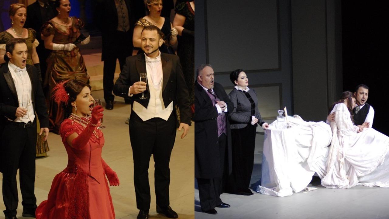 """კლასიკა ყველასთვი - ვერდის """"ტრავიატას""""თბილისის საოპერო თეატრში იტალიელი დირიჟორი სტეფანო რომანი უძღვებოდა"""