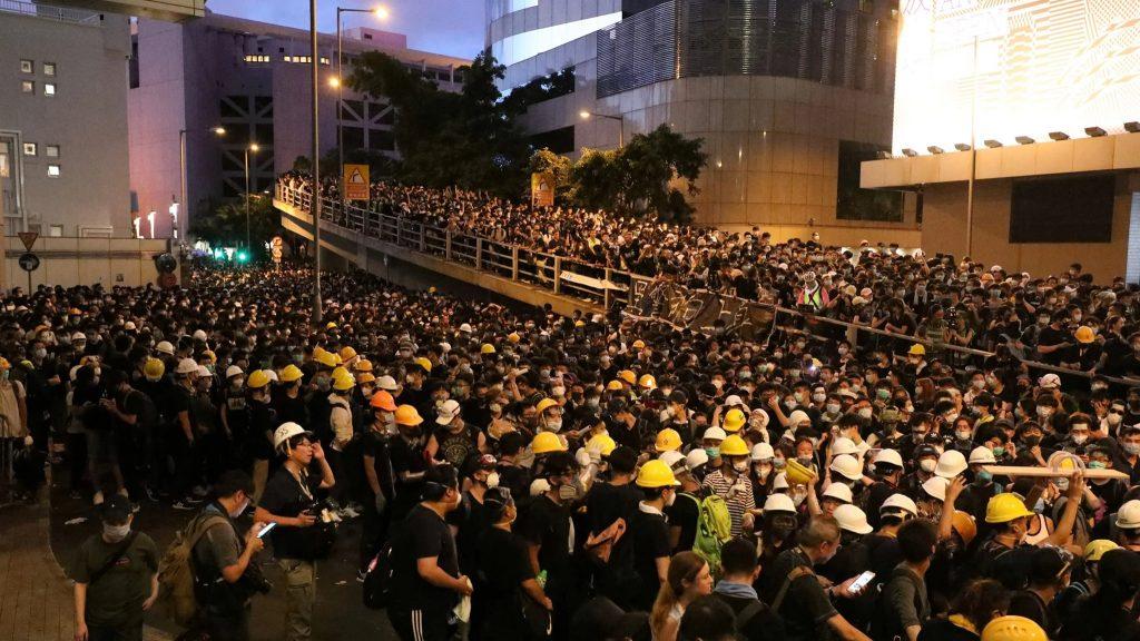ჰონგ-კონგში ექსტრადირების შესახებ კანონპროექტის წინააღმდეგ მორიგი დემონსტრაცია გაიმართა