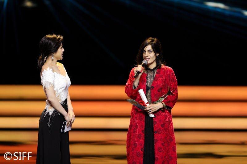 ქართველმა მსახიობმა, სალომე დემურიამ, შანხაის კინოფესტივალზე ქალის როლის საუკეთესო შესრულებისთვის მთავარი პრიზი მოიპოვა