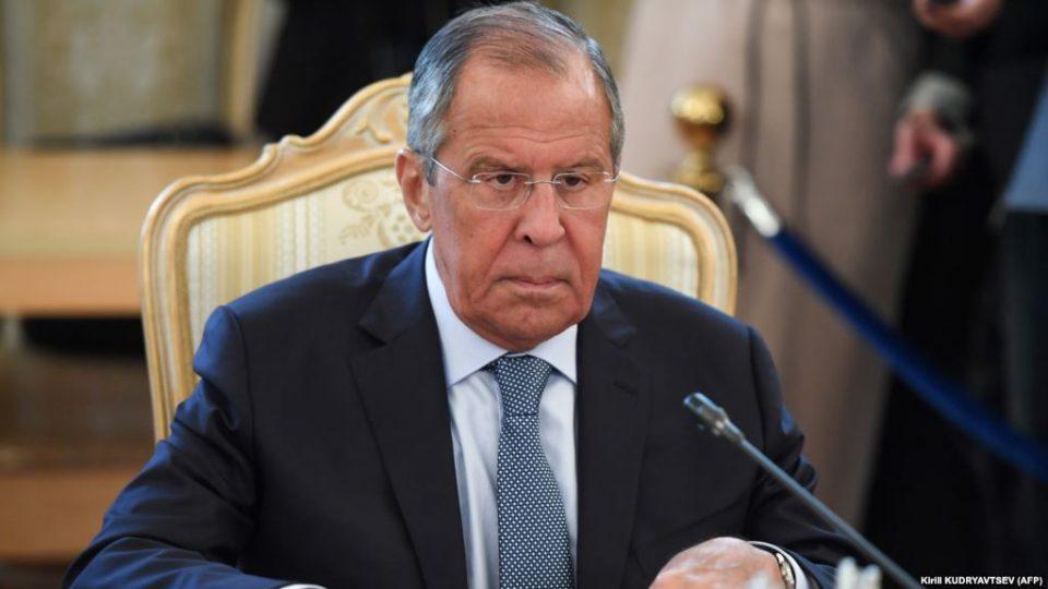 Сергей Лавров называет происходящие в Грузии процессы, результатом геополитической инженерии Запада