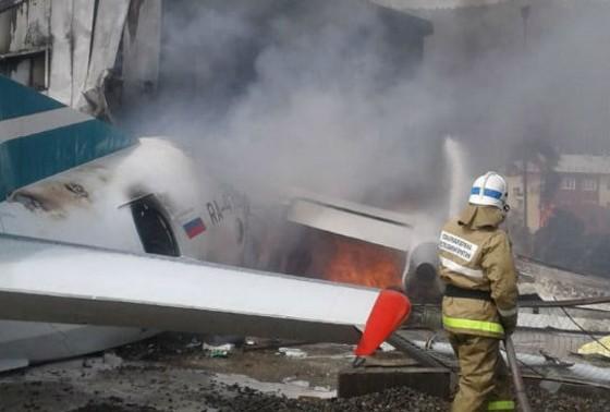 ბურიატეთის რესპუბლიკაში სამგზავრო თვითმფრინავის ავარიულად დაშვების შედეგად ორი ადამიანი დაიღუპა