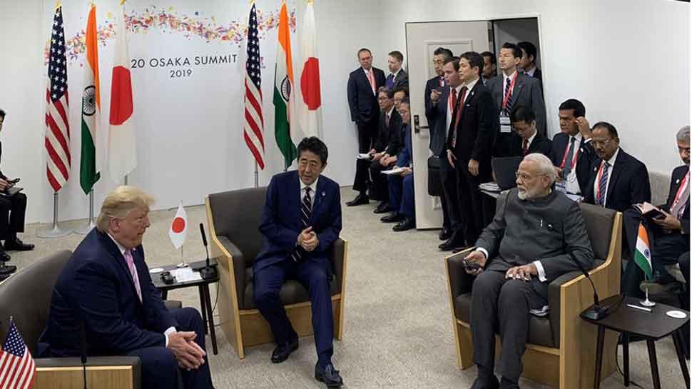 აშშ-ის, ინდოეთისა და იაპონიის ლიდერები ინდოეთისა და წყნარი ოკეანის რეგიონში უსაფრთხოების უზრუნველყოფაზე შეთანხმდნენ