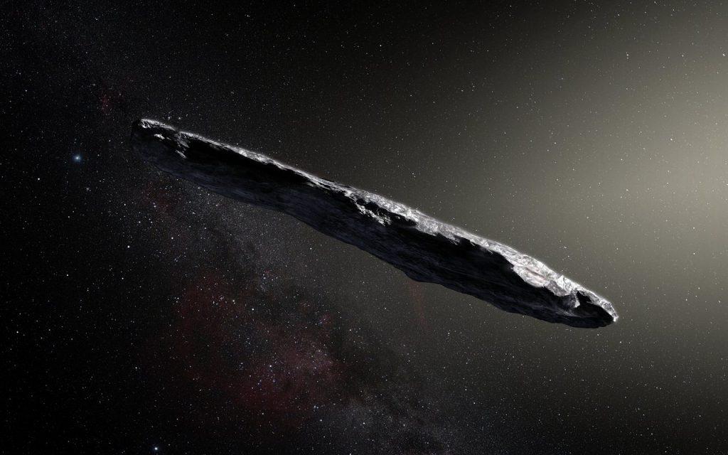მზის სისტემაში შემოჭრილი ობიექტი ოუმუამუა არამიწიერი ცივილიზაციის ხომალდი არ აღმოჩნდა