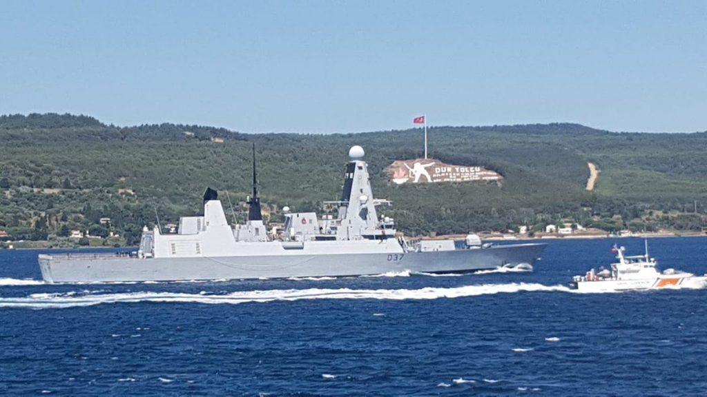 შავ ზღვაში ნატო-ს ორი სამხედრო ხომალდი შევიდა