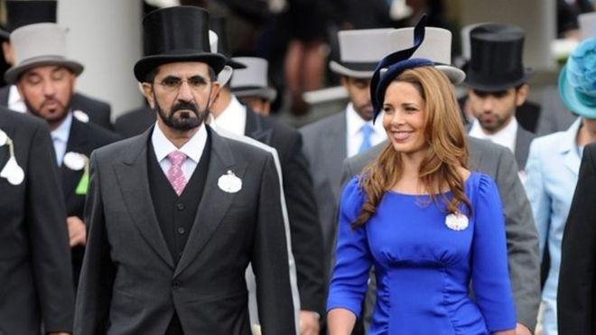 """""""ბიბისის"""" ინფორმაციით, დუბაის შეიხის მეუღლე, პრინცესა ჰაია ლონდონში იმალება"""