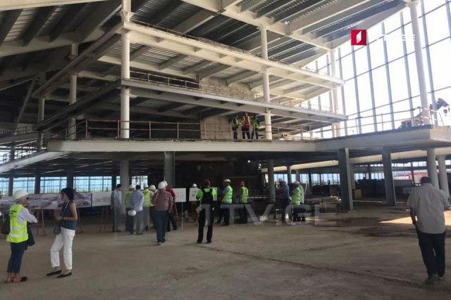 ქუთაისის საერთაშორისო აეროპორტის ახალი ტერმინალის მშენებლობის მეორე ფაზა სრულდება