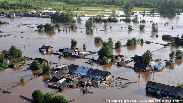 Իրկուտսկի նահանգում ջրհեղեղի պատճառով Ռուսաստանում հայտարարվել է արտակարգ դրություն