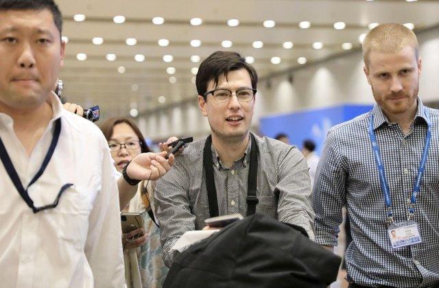 ჩრდილოეთ კორეამ დაკავებული ავსტრალიელი სტუდენტი, 29 წლის ალეკ სიგლი გაათავისუფლა