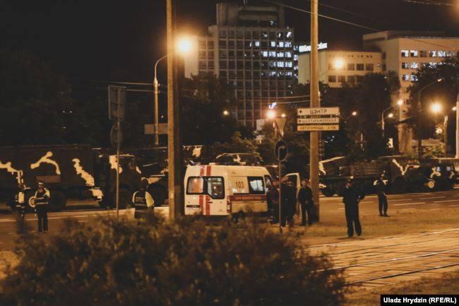 მინსკში ბელარუსის დამოუკიდებლობის დღისადმი მიძღვნილი ფოიერვერკის აფეთქებისას გარდაიცვალა ერთი და დაშავდა 10-მდე ადამიანი