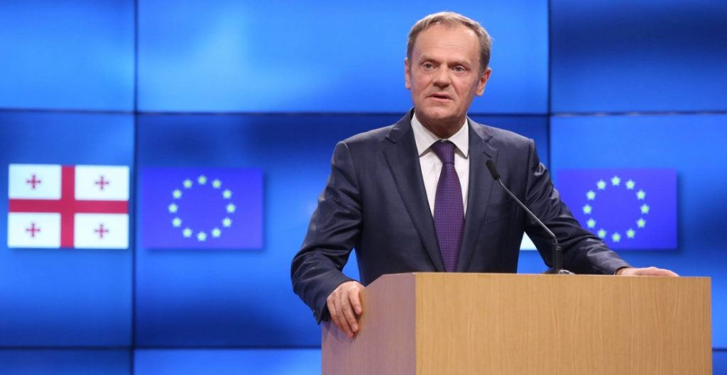 Donald Tusk: Collapse of the Soviet Union was a very positive event for Georgia, Poland, Central and Eastern Europe