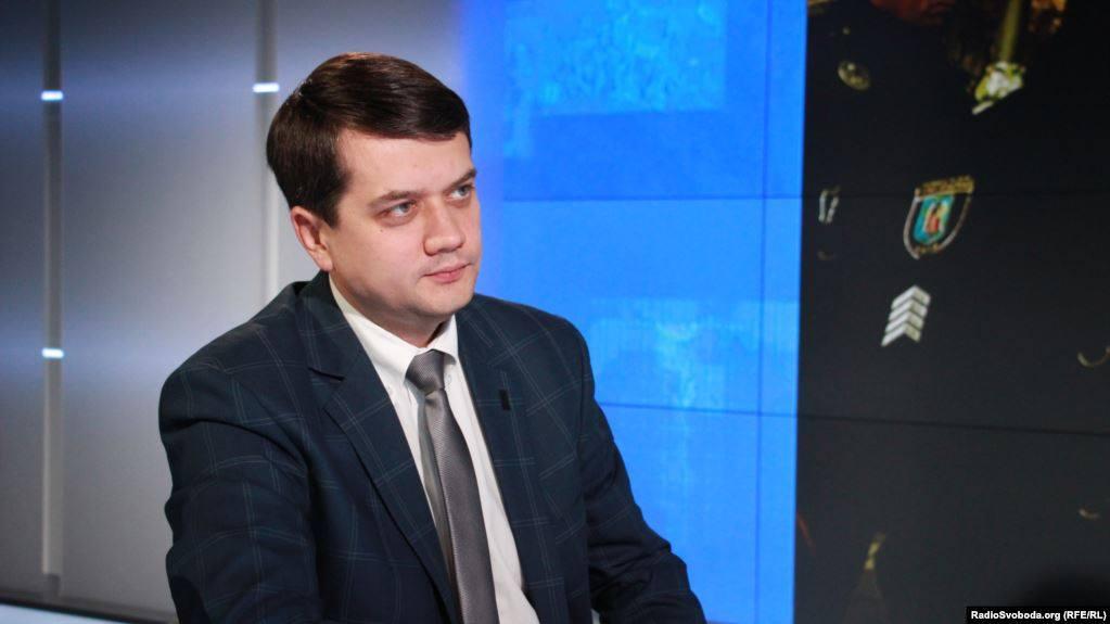 Лидер партии Владимира Зеленского - Из-за включения партии Михаила Саакашвили в избирательный процесс, выборы в Раду, возможно, сорвутся