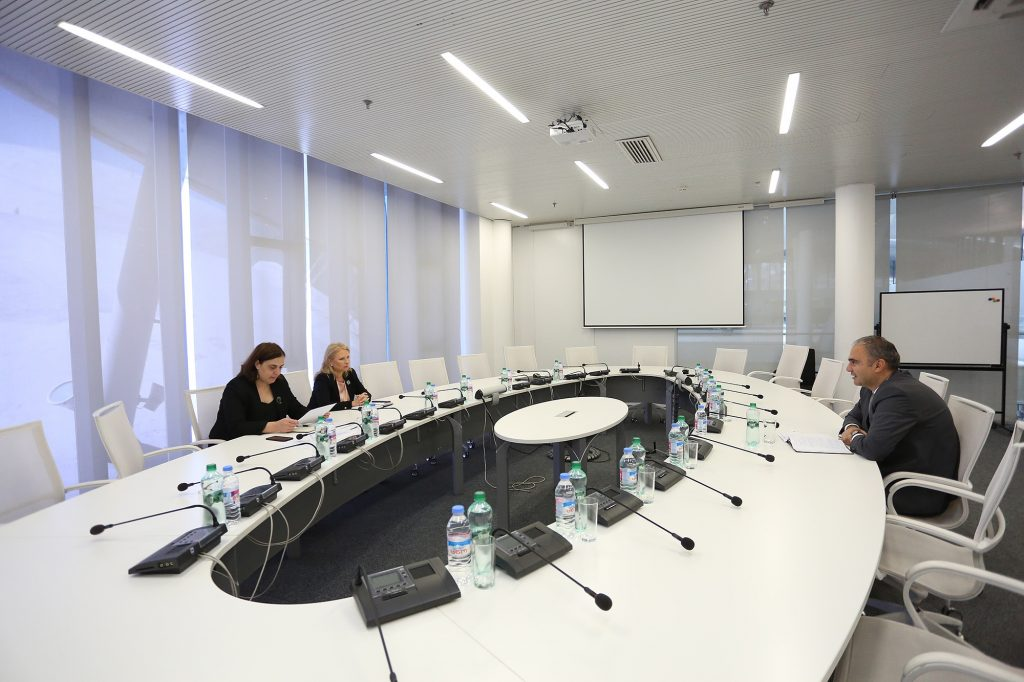 Натия Турнава встретилась с новым постоянным представителем Международного валютного фонда
