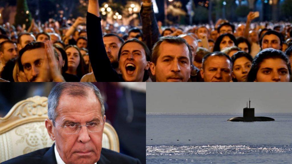 მსოფლიოს ამბები - ლავროვის ბრალდების პასუხი და რუსეთში ჩაძირული საიდუმლო ხომალდი