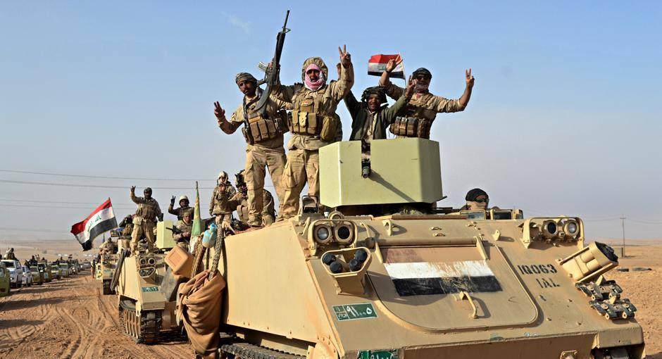 """ერაყში """"ისლამური სახელმწიფოს"""" წინააღმდეგ მასშტაბური ოპერაცია დაიწყო"""
