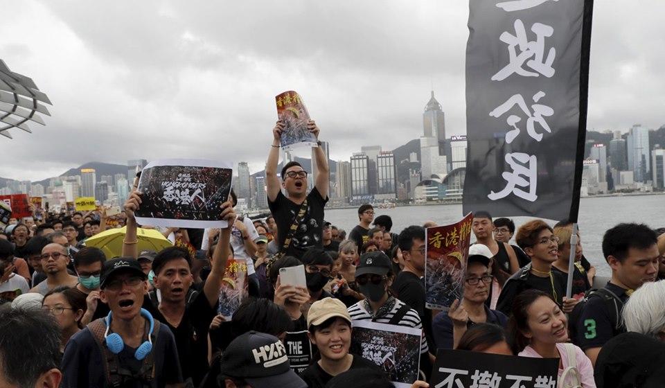 ჰონგ-კონგში, ხელისუფლების წინააღმდეგ გამართულ დემონსტრაციაზე 230 ათასი ადამიანი შეიკრიბა