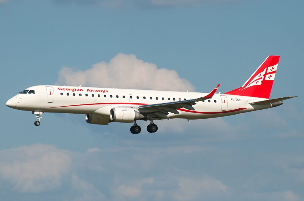 Georgian Airways to launch charter flights to Amsterdam and Tel Aviv