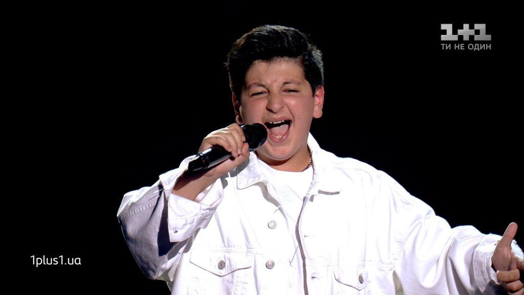 "Alexandre Zazarashvili won Ukrainian ""Kids' Voice"""