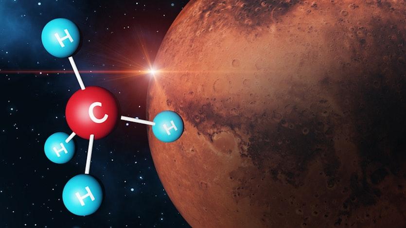მარსის მეთანის საიდუმლო - მეცნიერთა აზრით, ამ აირს შესაძლოა, სიცოცხლესთან აქვს კავშირი