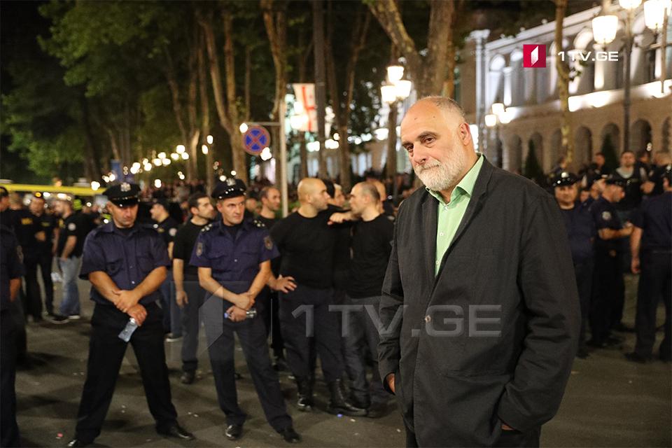 Гурам Палавандишвили - Мы хотим разойтись, наша цель достигнута, прайд не состоялась, деоккупация и Гахария меня не интересуют