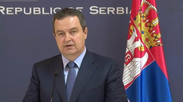 სერბეთის საგარეო საქმეთა მინისტრმა კოსოვო და ალბანეთი ბალკანეთზე ერთობლივი სახელმწიფოს შექმნის მცდელობაში დაადანაშაულა