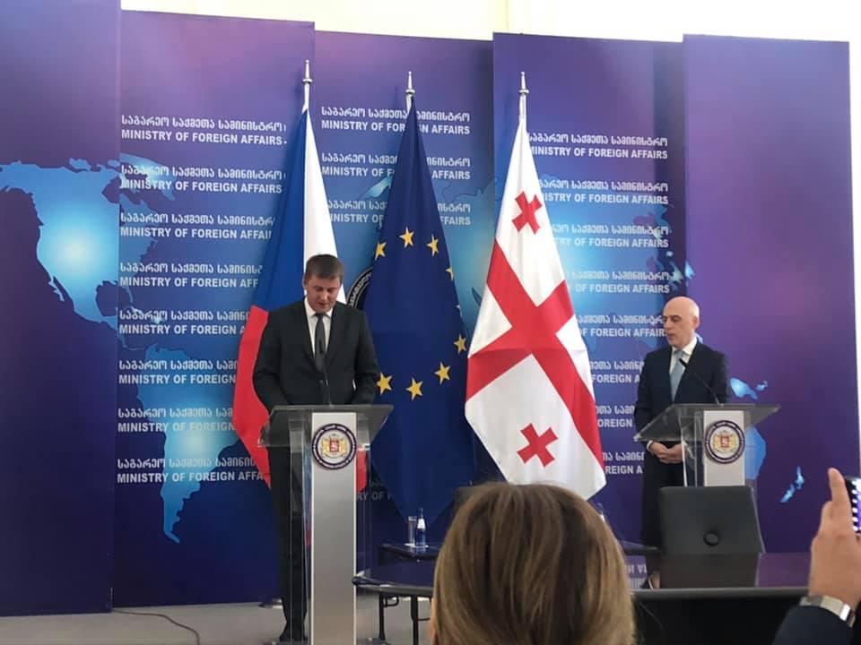 ჩეხეთის საგარეო საქმეთა მინისტრი - ჩეხეთი საქართველოსთან ეკონომიკური თანამშრომლობის გაძლიერებით არის დაინტერესებული