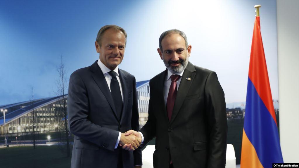 Դոնալդ Տուսկի խոսքով, Եվրամիությունը կշարունակի օգնել Հայաստանին