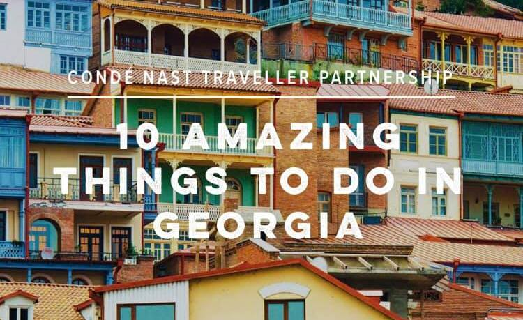 'Conde Nast Traveler' recommends the reader to travel to Georgia