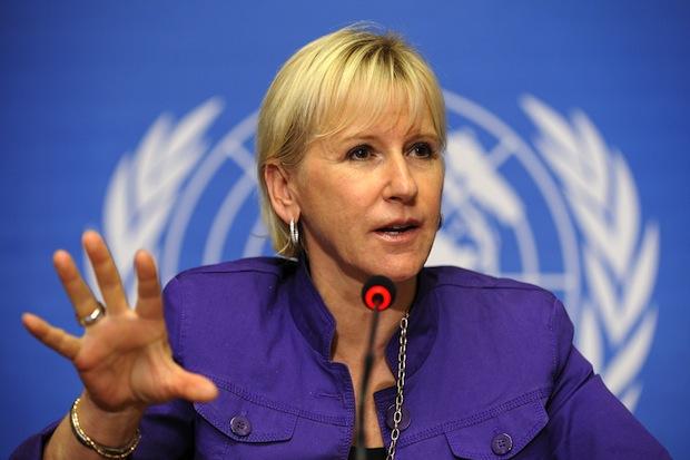 შვედეთის საგარეო საქმეთა მინისტრი -მიგვაჩია, რომ დემოკრატიულმა ქვეყანამ უნდა შექმნას დიალოგისთვის პლატფორმა, რომელიც განსხვავებული აზრის გამოთქმის საშუალებას იძლევა