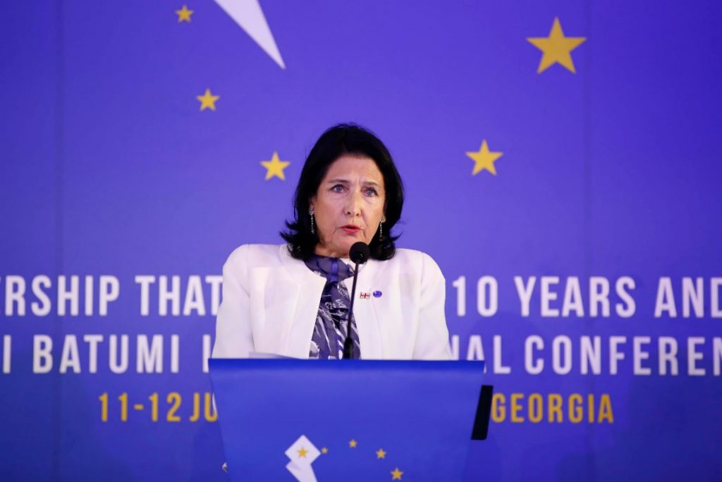 Անհրաժեշտ է, որ Վրաստանի տնտեսությունը համատեղենք Եվրամիության միասնական շուկայի օրենքների հետ. Սալոմե Զուրաբիշվիլի