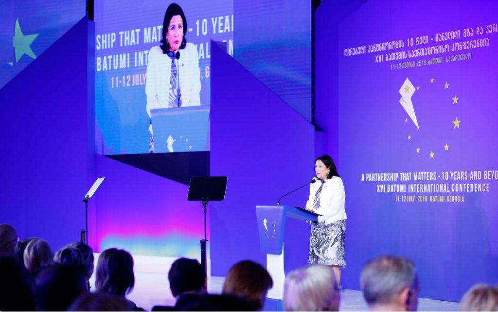 Վրաստանի նախագահը հանդես է գալիս Ժնևյան բանակցությունների նոր մակարդակի բարձրացնելու նախաձեռնությամբ