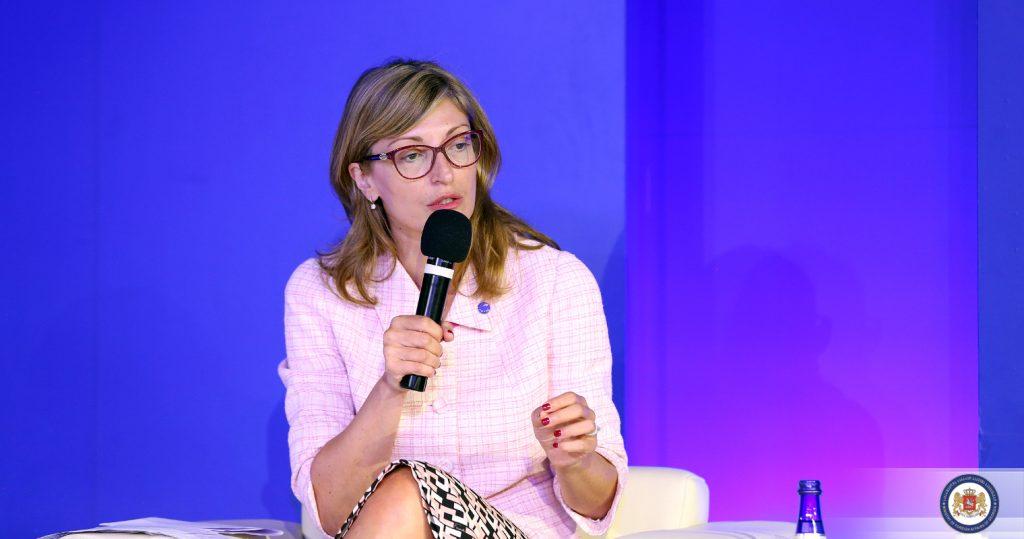 Екатерина Захарьева - Политика правительства Грузии базируется на европейском выборе грузинского народа