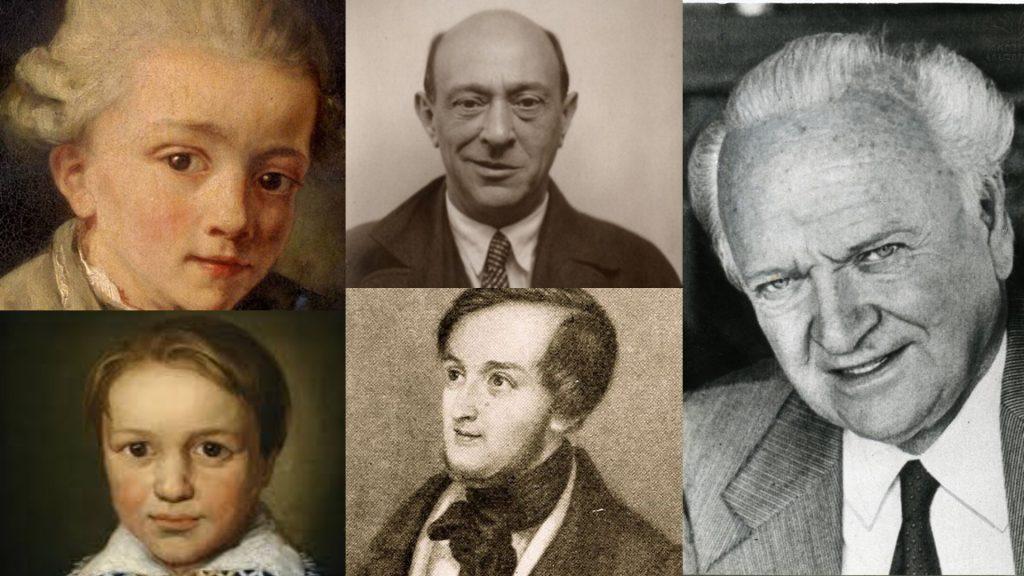 კლასიკა ყველასთვის - კომპოზიტორების ევოლუცია-ადრეული ნაწარმოებებიდან ბოლო თხზულებებამდე