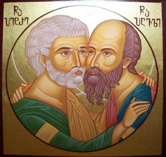 მართლმადიდებელი ეკლესია დღეს პეტრე-პავლობას აღნიშნავს