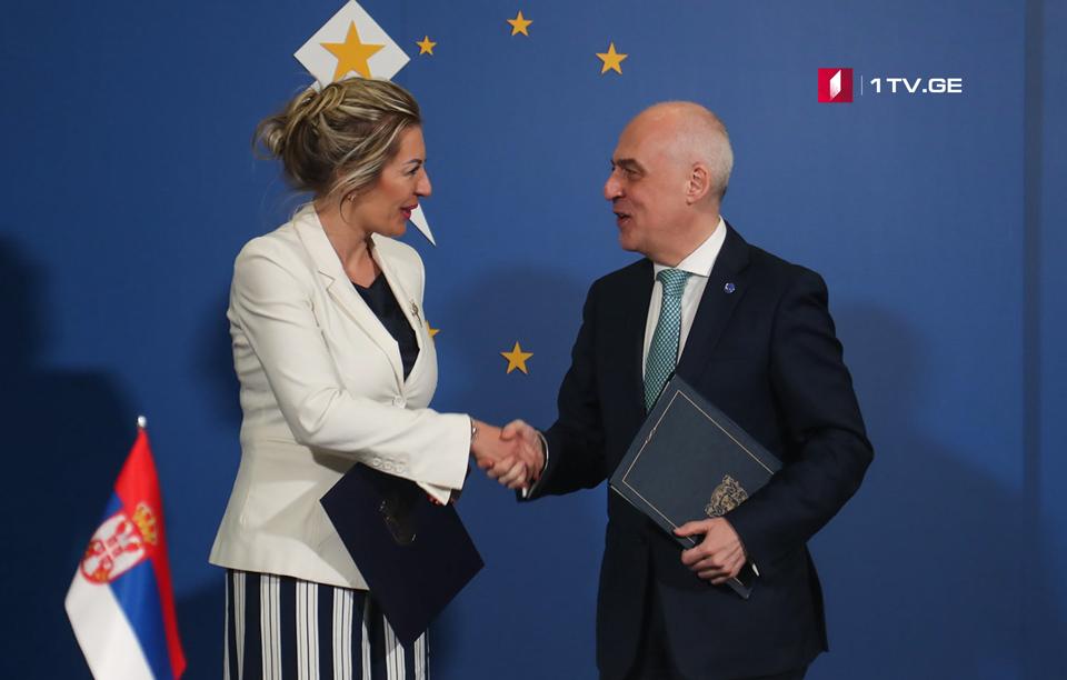 სერბეთის ევროპული ინტეგრაციის მინისტრი -ჩვენ მტკიცედ ვუჭერთ მხარს საქართველოს ევროპულ მისწრაფებებს