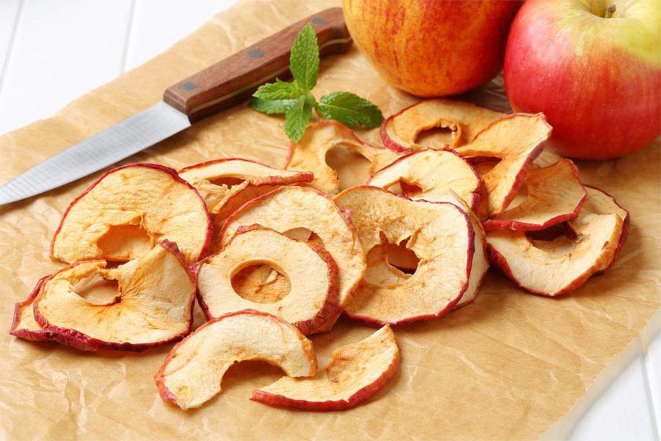 ჩვენი ფერმა - ვაშლის ჩიფსების წარმოება