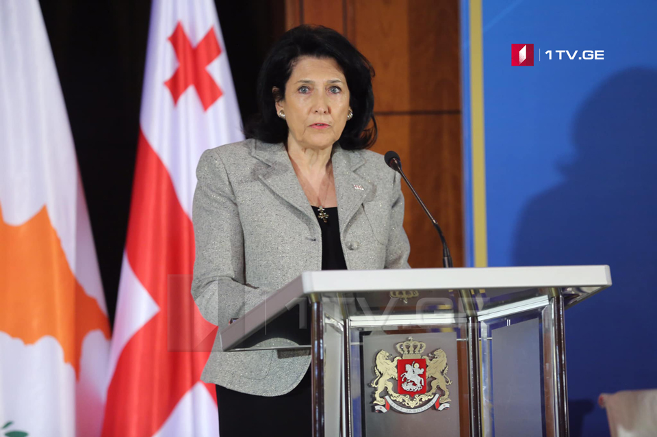 Salome Zurabishvili – We are hopeful for our partners. They should be either mediators or advocates of Georgia
