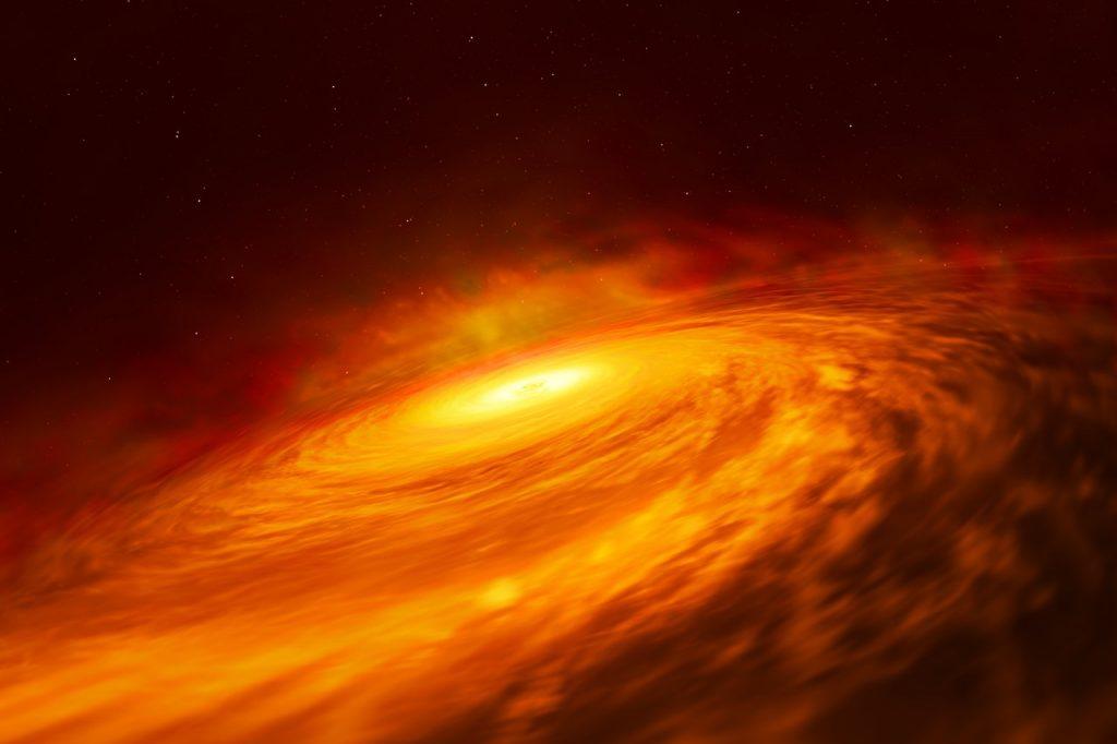 ჰაბლმა სამყაროს ერთ-ერთი ყველაზე უცნაური შავი ხვრელი აღმოაჩინა