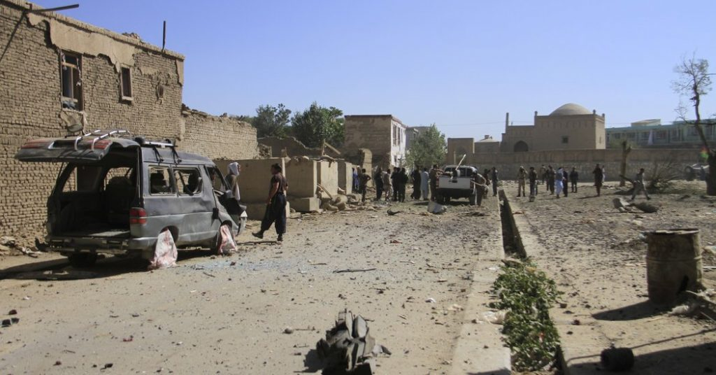 ავღანეთში აფეთქების შედეგად ცხრა ადამიანი დაიღუპა და 18 დაშავდა