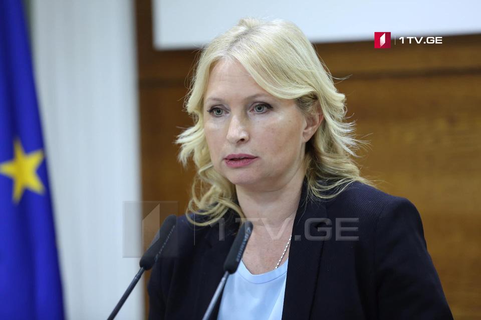 Натия Турнава - Мы положительно отреагируем, если абсолютно нерациональное ограничение прямых рейсов между Россией и Грузией будет снято
