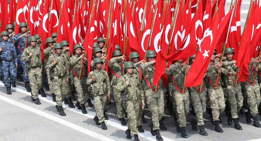 თურქეთის არმიის ოფიცერთა კორპუსის მომზადება
