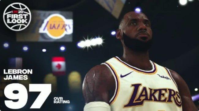 ნაციონალური საკალათბურთო ასოციაციის (NBA) ახალ კომპიუტერულ თამაშში ყველაზე მაღალი რეიტინგი ლებრონს და კავაის აქვთ