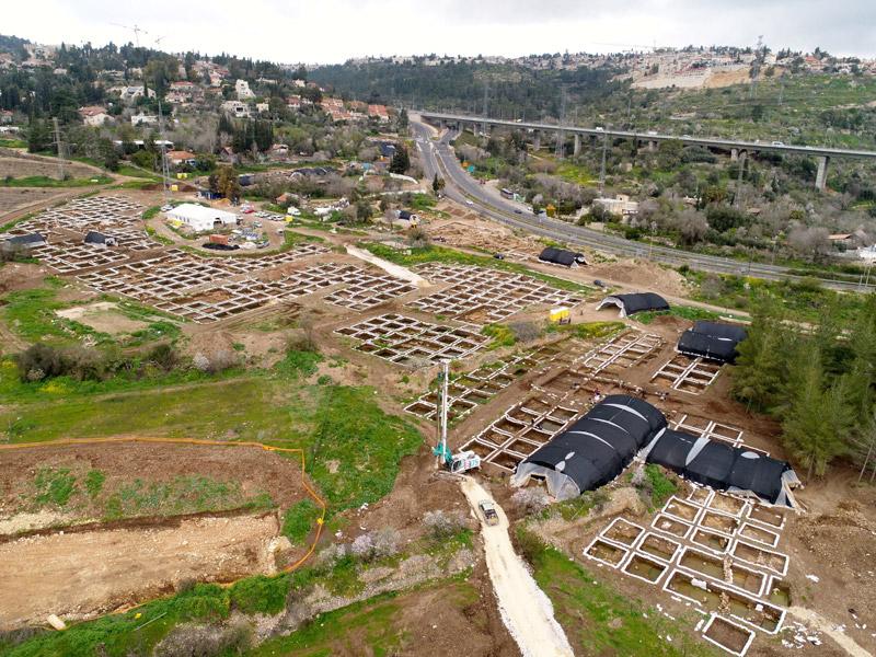 იერუსალიმთან 10 000 წლის უზარმაზარი ნეოლითური ნაქალაქარი აღმოაჩინეს