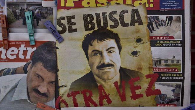 """მექსიკელ ნარკობარონ """"ელ ჩაპოს"""" უვადო პატიმრობა მიუსაჯეს"""