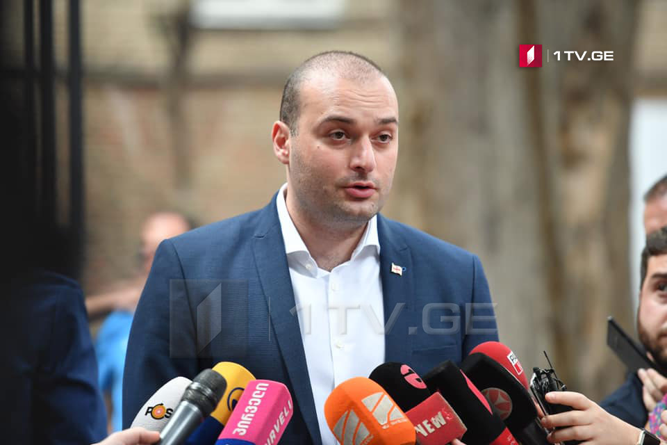 Mamuka Bakhtadze: Strasbourg Court decision is yet another confirmation that we did not have fair justice under Saakashvili's regime