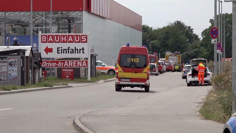 გერმანიაში მცირე ზომის თვითმფრინავი კატასტროფის დროს მშენებარე მაღაზიას დაეცა