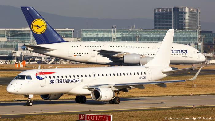 """ავიაკომპანიებმა """"ლუფთჰანზამ"""" და """"ბრითიშ ეარვეისმა"""" კაიროში ფრენა შეაჩერეს"""